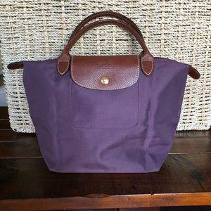 Longchamp Le Pliage Small Top Handle Nylon Bag